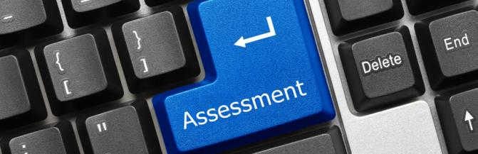 Assessment tab on keyboard